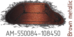 Brown metallic AM-550084-108450