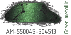 Green metallic AM-550045-504513