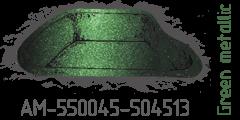 Green metallic AM-550045-504513