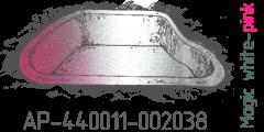Magik white pink pearl AP-440011-002038