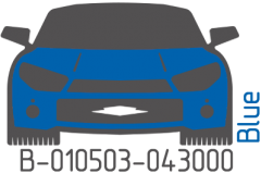 Blue B-010503-043000