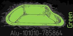 Green lumen Alu-101010-785864