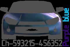 Purple blue chameleon Ch-593215-456352